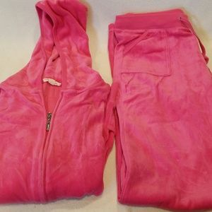 Other - Cute pink jogger set